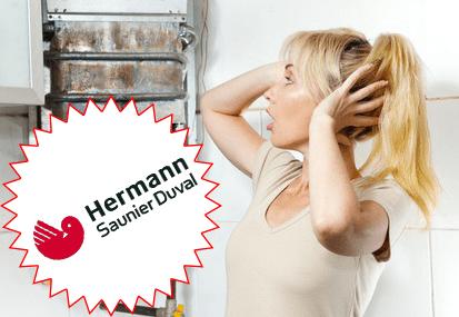 blocco caldaia hermann saunier duval